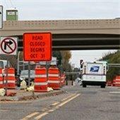 Temporary Roadwork in Roseville