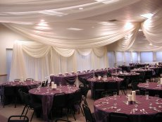 Wedding Reception Room Set Up