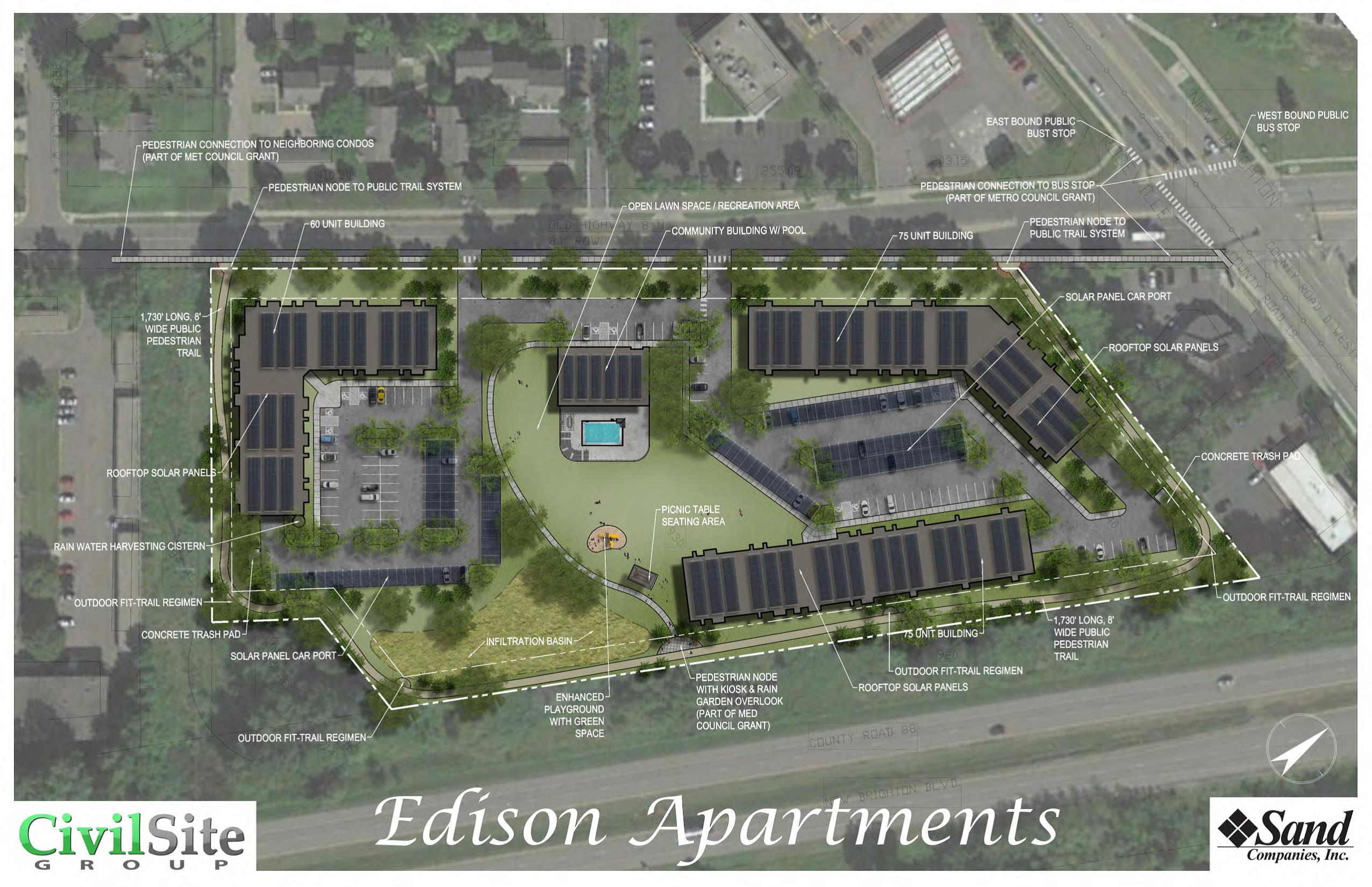 Edison Multifamily Community-- Building Configuration