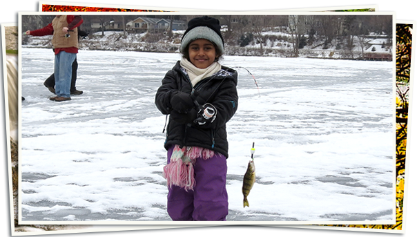 Homepage Slideshow - ice fishing kid