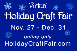 Holiday Craft Fair sign