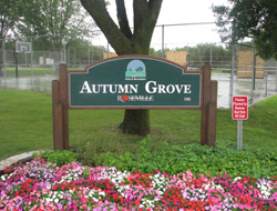 Autumn Grove Sign