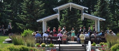 Wedding at the Arboretum