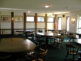 Photo of clubhouse rental room