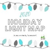 Holiday Lights Map