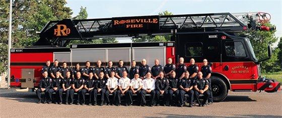 Roseville Fire Department Staff