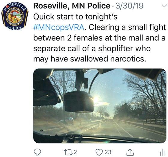 MN Cops VRA