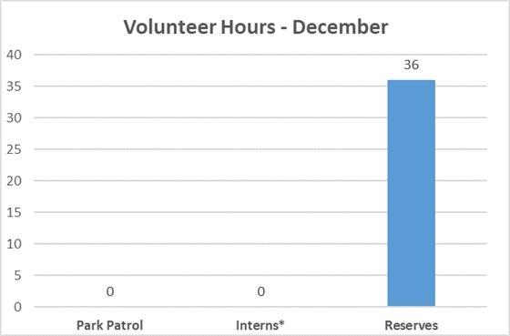 December 2019 Volunteer Hours