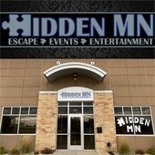 HiddenMN s logo and storefront