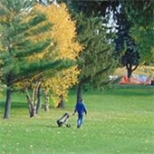 Fall Golfing at Cedarholm