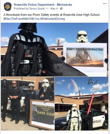 Throwback Prom Star Wars Engagement