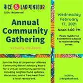 Rice & Larpenteur Gathering