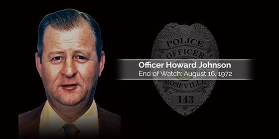 Officer Howard Johnson EOW