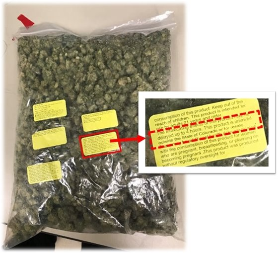1 Pound of Marijuana