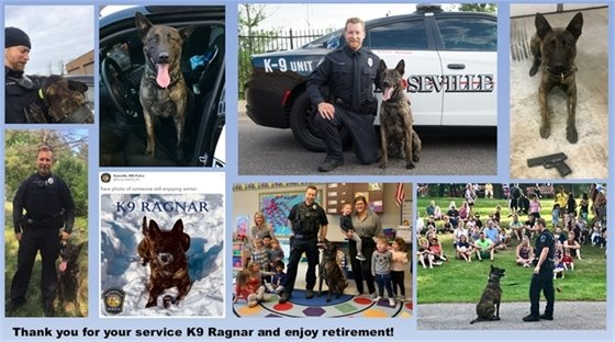 K9 Ragnar Retirement