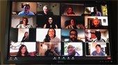 MAC Members on a Zoom Meeting