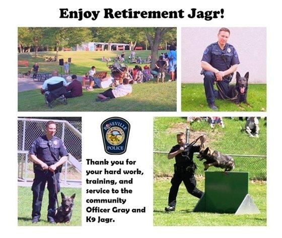 K9 Jagr Retires
