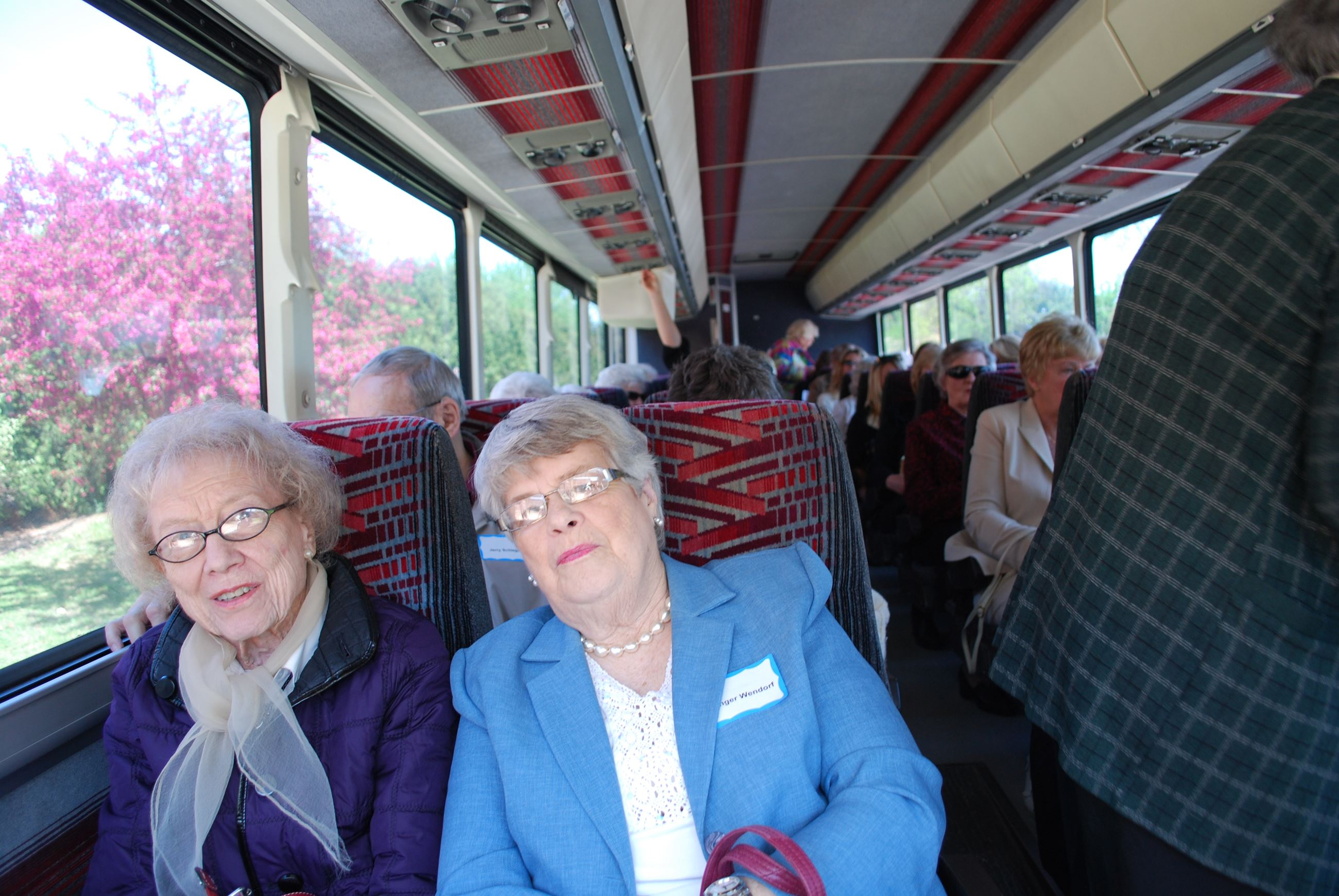 Ladies on bus