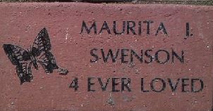 Celebration walk brick
