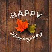 Happy Thanksgiving wood background