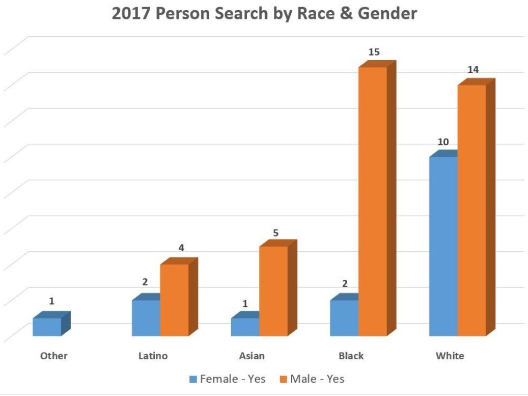 2017 Person Search by Race & Gender