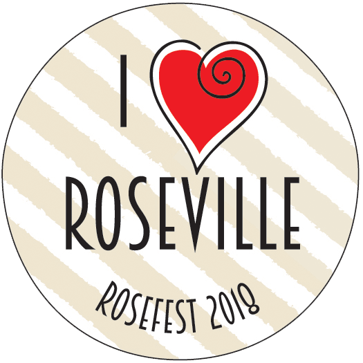 Rosefest Button- 1
