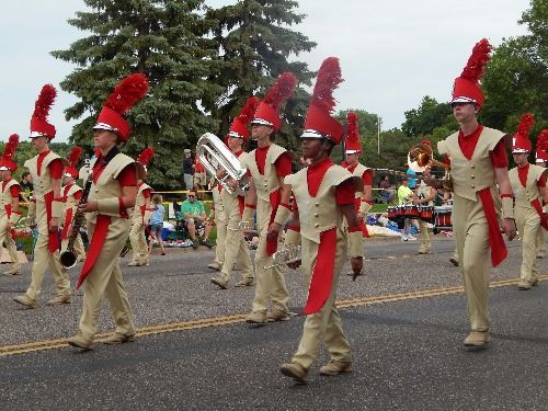 Henry Sibley HS, overall band winner