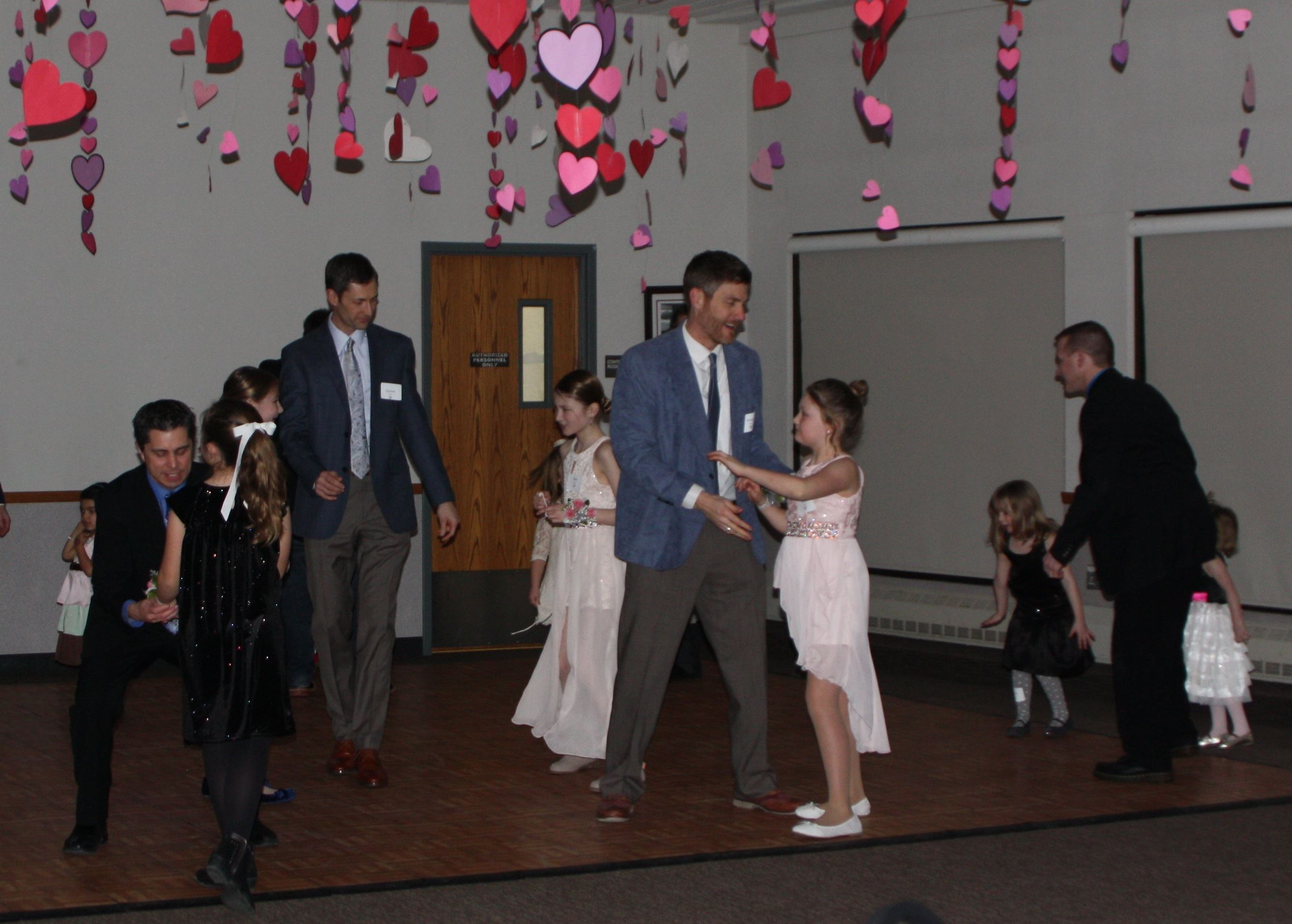 Dancing dads and daughters