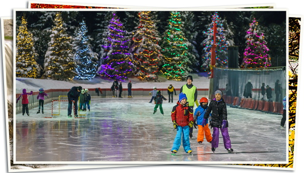 Homepage - Kids Skate Lighted Oval