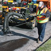 Pothole Spray Patching