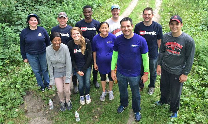 US Bank Volunteers