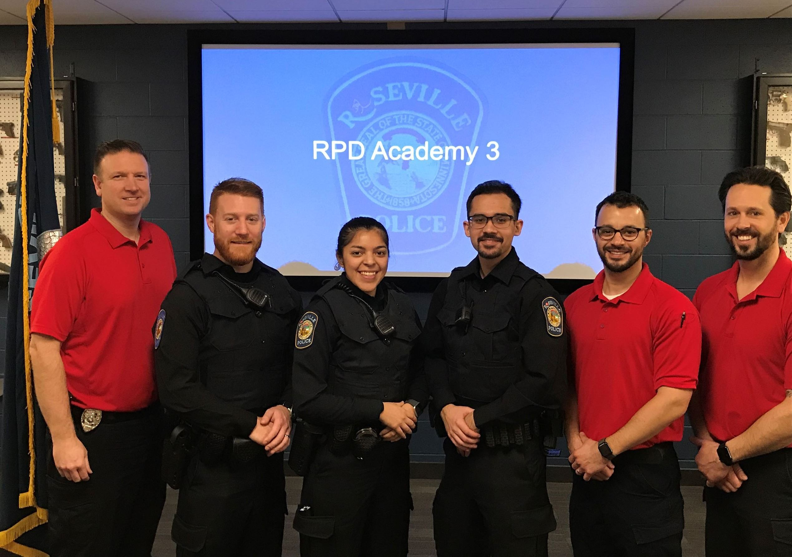 RPD's New Recruit Academy