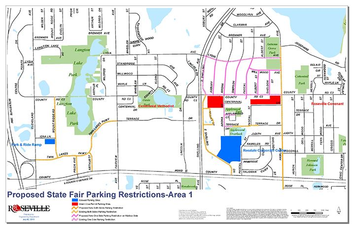 Proposed State Fair Parking Restrictions-Area 1 on great trinity forest map, cedar fair map, dealey plaza map, houston map, union station map, arlington map, riverside international raceway map, plano map, detroit institute of arts map, oklahoma city fairgrounds map, college station map,